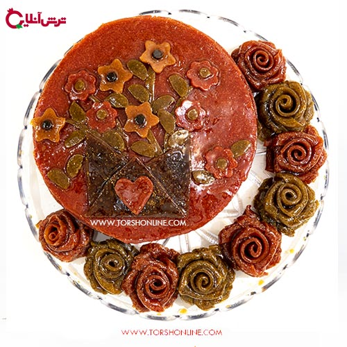 کیک تولد لواشکی